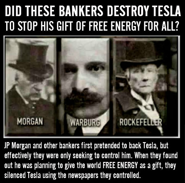 Morgan Warburg and Rockefeller