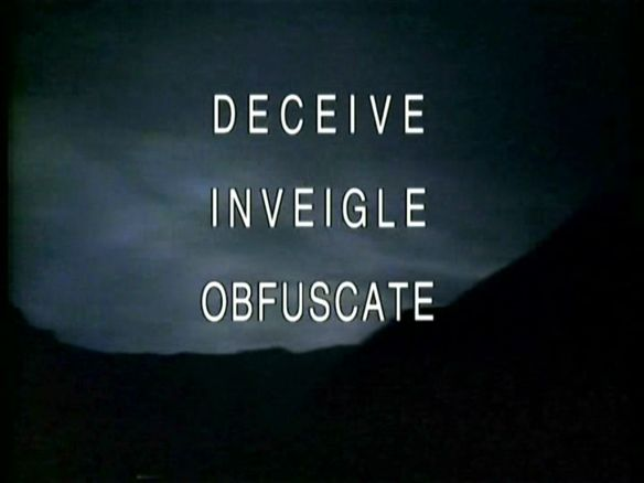 deceive-inviegle-obfuscate