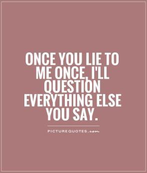 lying to me